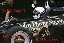 Elio De Angelis JPS Lotus 91 Swiss Grand Prix 1982 Photograph 1