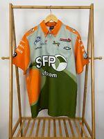 VTG SFP Nascar Pit Crew Race Issued Shirt Size L