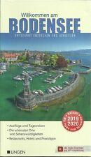 Briefversand Reiseführer Bodensee Lindau Bregenz St. Gallen +Landkarte 2019/2020