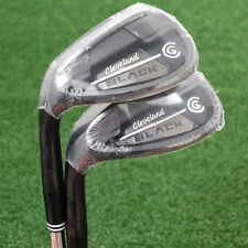 Cleveland CG Black 48&52 LEFT HAND Pitching and Approach Wedge 2pc SET Steel NEW