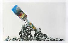 Mr Brainwash Untitled Paint Brush Silk Screen Art Print Signed & Numbered Ed 75