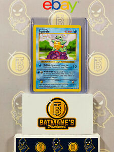 Squirtle 63/102 Shadowless NM Near Mint Base Set Non-Holo Pokemon Card