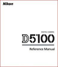Reference Manual (English Language) for Nikon D5100