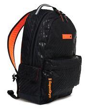 Superdry Rucksack Black AOP Montana Backpack School Travel Work Bag Laptop