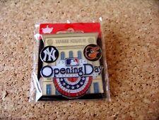 2014 NY New York Yankees vs Baltimore Orioles Opening Day Yankee Stadium pin MLB