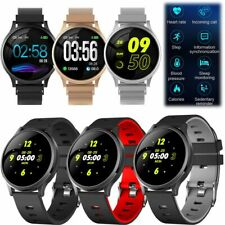 Bluetooth Smart Watch Heart Rate Monitor Wristwatch for iOS Android Cell Phone