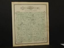 Michigan Hillsdale County Map Somerset  Township 1916  Y9#91