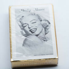 Vintage Marilyn Monroe Plastic Coated Playing Cards USA NMMM Sealed
