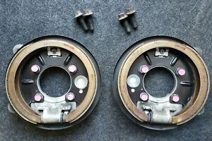 """98 - 02 LS1 Camaro WS6 Firebird Rear Disc Backing Plates and Parking Brake 12"""""""