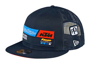 Troy Lee Designs 2020 Team KTM 4WP 9Fifty Snapback Hat OSFA - Navy
