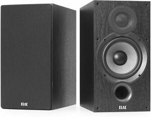 ELAC Debut B6.2 Par Andrew Jones Compact Enceintes Stéréo D'Étagère Noir Déco