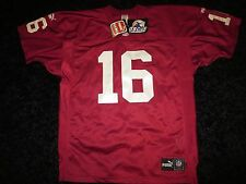 Jake Plummer #16 Arizona Cardinals NFL Puma Premier Sewn Jersey 50 Signed NEW