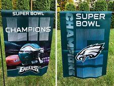NEW Philadelphia Eagles Garden Flag SUPER BOWL Champions! 2-Sided 12x18 NFL Home