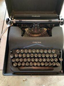 Vintage Corona Manual Typewriter