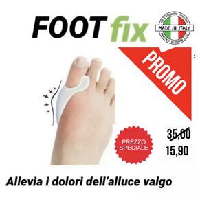 ALLUCE VALGO  Foot Fix  tutore silicone FOOTFIX  2 pezzi  dx-sx  anallergico