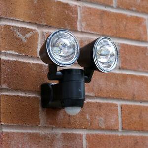Battery LED PIR Motion Sensor Security Wall Light | Outdoor Garden Adjustable