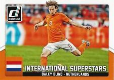 2015 Donruss Soccer 'International Superstars' #7 Daley Blind Netherlands Man U