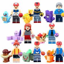 16Pcs Pokemon Go Set POKEMON Mini Figures PIKACHU Building Blocks Toys Fits lego