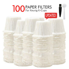 i Cafilas Disposable Paper Filters Reusable K Cup Coffee Filter Pods for Keurig