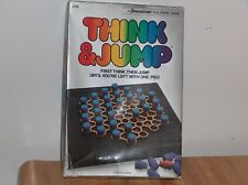 Pressman Solitaire Game 1984 Think and Jump Complete