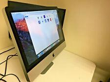 "Apple iMac Late 2011 Core i3 -3.10GHz 4GB RAM 250GB HDD 21.5"" FHD 1920x1080 DVD."
