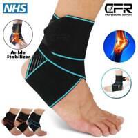 Medical Foot Brace Ankle Support Strap Sport Compression Elastic Bandage Wrap