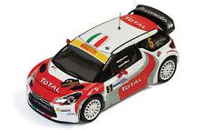 Ixo 1:43 Citroen DS3 WRC #5 Pirollo-Capello Monza Rally 2011 RAM468 Brand new