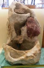 Fuente agua, Water fountain, Springbrunnen, Piedra Jabon, Soap stone, Speckstein