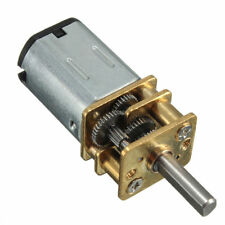 Model N20 DC 6v 30rpm Mini Metal Gear Motor With Gearwheel 3mm Shaft Diameter SI