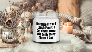 Candle Lover Gifts For Women Men Candles funny sayings Best Smelling Candle