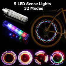 Led Flash Spoke Light Bike Bicycle Car Wheel Tire Valve Cap Neon Lamp 32 Changes