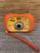 Vtech Kidizoom Digital Camera Connect Orange tested fast Shipping!!!!