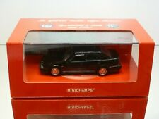 MINICHAMPS 120463 ALFA ROMEO 75 3.0 V6 AMERICA 1989 - BLACK 1:43 - MINT IN BOX