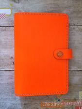 Filofax Personal Original in Fluro Orange ***RARE***