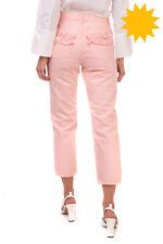 RRP €265 J BRAND SIMONE ROCHA Boyfriend Jeans Size 26 Ruffle Cropped Made in USA