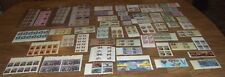 LOT OF 58 DIFFERENT NEW UNITED STATES POSTAGE STAMPS PLATE BLOCKS