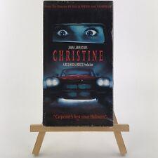 Christine Sealed (VHS, 1999) Stephen King John Carpenter Horror Classic Rare OOP