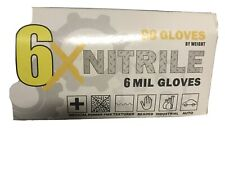 Nitrile 6mil Gloves Black XL