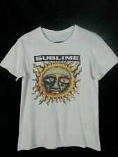 2006 Sublime Tee Shirt Discolored White Distressed S to S/M