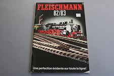 X059 FLEISCHMANN Train catalogue Ho N Rallye Monte Carlo 1982 83 96 pages F