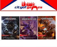 D&D Dungeons & Dragons Monster Manual Masters Guide & Player's Handbook Bundle
