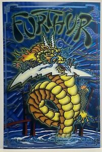 FURTHUR 2011 GRATEFUL DEAD CONCERT 3-d POSTER CALIFORNIA 12x18
