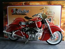 Guiloy 1948 Indian Chief Motorcycle 1:6 Scale Model Bike Collection