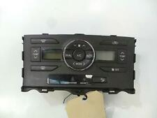 TOYOTA COROLLA HEATER/AC CONTROLS ZRE152R, CLIMATE CONTROL TYPE, HATCH, 03/07-09