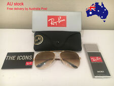 Ray-Ban Aviator RB3025 001/51 58mm Brown Gradient Lens Sunglasses Unisex