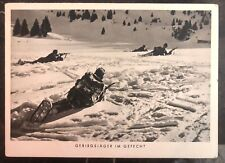1938 Marnheim Germany Wehrmacht Army Rppc Postcard Cover Mountain Troops