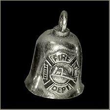 GREMLIN BIKER BELL FIREFIGHTER / FIRE DEPT. FOR HARLEY DAVIDSON guardian spirit