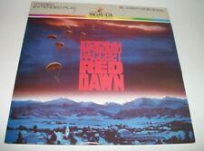 RED DAWN Laserdisc - Patrick Swayze -