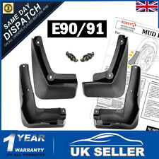 UK STOCK Mud Flaps Splash Guards Set FOR BMW 3 Series E90 E91 E92 Saloon Touring