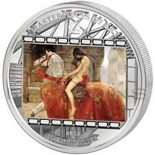 Cook Islands 2013 20$ Masterpieces of Art Lady Godiva John Maler Collier 3oz
